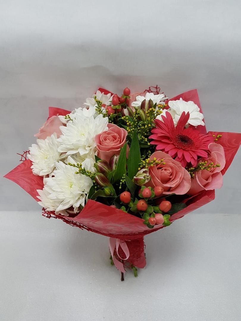 Букеты хризантем, заказ букетов на дом хабаровск